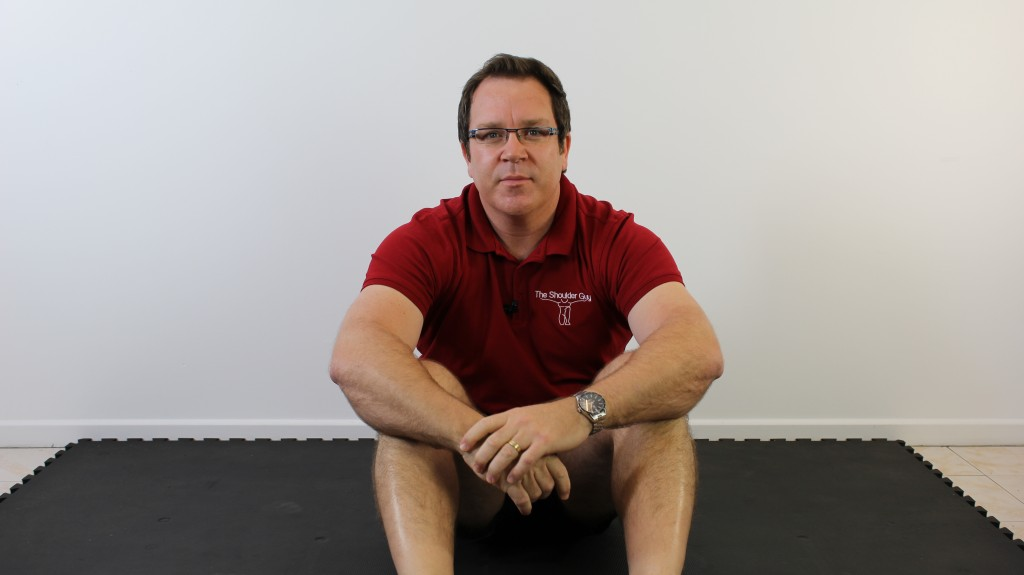 shoulder physiotherapy with Luke Van Every